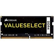 Corsair SO-DIMM 8GB KIT DDR4 2133MHz CL15 ValueSelect fekete - Rendszermemória