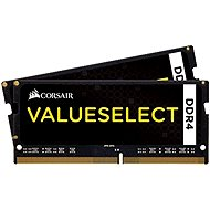 Corsair SO-DIMM 8 GB KIT DDR4 2133MHz CL15 fekete ValueSelect - Rendszermemória