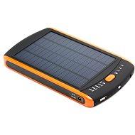 DOCA Solar 23 000 mAh PowerBank - Fekete / Narancssárga - Power Bank