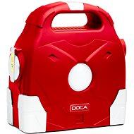 DOCA Powerbank 95000mAh piros - Akkutöltő állomás