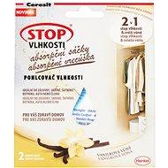 CERESIT Stop 2v1 nedvesség elnyelő tasakok vanília 2 x 50 g - Páramentesítő