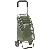 GIMI Flexi zöld bevásárlókocsi 45 l - Gurulós bevásárlótáska