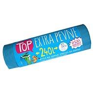 VIPOR LDPE Top Extra szilárd 240 l, 10 db, kék - Szemeteszsák