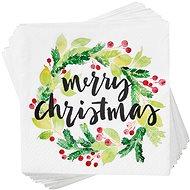 BUTLERS Aprés Merry Christmas zöld 20 db - Papírszalvéta