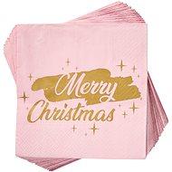 BUTLERS AprésMerry Christmas rózsaszín 20 db - Papírszalvéta