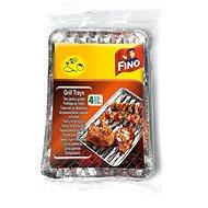 FINO grilltálca 4 db, 35×23 cm - Grill szett