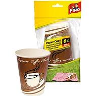 FINO papír pohár 250 ml, 6 db - Kemping edény