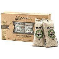PANDOO természetes bambusz légtisztító aktív szénnel 4 x 75 g - Légtisztító