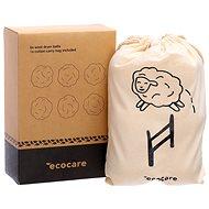 ECOCARE Gyapjúgolyók ruhaszárítóhoz 6 db - Szárítólabda