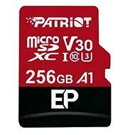 PATRIOT EP Series 256GB MICRO SDXC V30 A1 - Memóriakártya