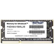 Patriot SO-DIMM 4GB DDR3 1600MHz CL11 Ultrabook Line - Rendszermemória