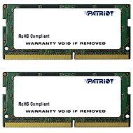 Patriot SO-DIMM KIT 16GB DDR4 2400MHz CL17 Signature Line - Rendszermemória
