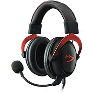 HyperX Cloud II Headset - piros - Gamer fejhallgató