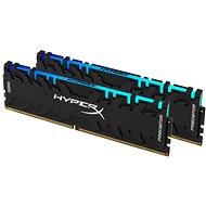HyperX 16GB KIT 3200MHz DDR4 CL16 Predator RGB - Rendszermemória