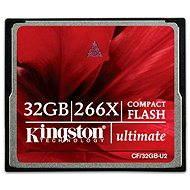 Kingston Compact Flash 32GB 266x Ultimate - Memóriakártya