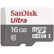SanDisk MicroSDHC 16GB Ultra Android Class 10 UHS-I