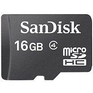SanDisk Micro SDHC 16GB Class 4 - Memóriakártya