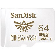SanDisk MicroSDXC 64GB Nintendo Switch A1 UHS-I (V30) U3 - Memóriakártya