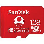 SanDisk MicroSDXC 128GB Nintendo Switch A1 UHS-I (V30) U3 - Memóriakártya