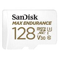 SanDisk microSDXC 128GB Max Endurance + SD adapter - Memóriakártya
