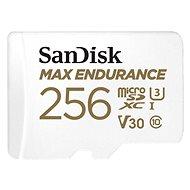 SanDisk microSDXC 256GB Max Endurance + SD adapter