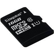 Kingston Micro SDHC 16GB Class 10 UHS-I - Memóriakártya