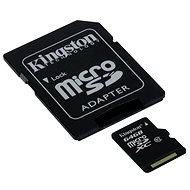 Kingston Micro SDXC 64 GB Class 10 UHS-I + SD adapter - Memóriakártyák