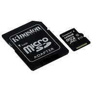 Kingston Micro SDXC Class 10 UHS 128 GB-I + SD adapter - Memóriakártyák