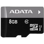 ADATA Micro SDHC 8GB Class 10 - Memóriakártya