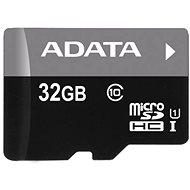 ADATA Micro SDHC 32GB UHS-I Class 10 Memóriakártya + OTG Reader - Memóriakártya