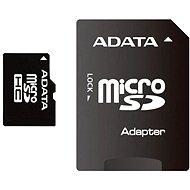 ADATA Micro SDHC 16GB Class 4 + SD adapter - Memóriakártya