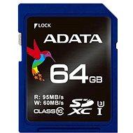 ADATA Premier Pro SDXC UHS-I U3 64 GB memóriakártya - Memóriakártya