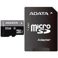 ADATA Premier Micro 32GB SDHC UHS-I + SDHC adapter - Memóriakártya