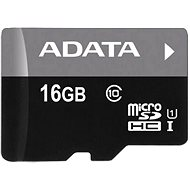 ADATA Premier mikro SDHC 16 GB UHS-I A1 Class 10 memóriakártya - Memóriakártya