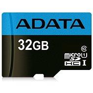 ADATA Premier micro SDHC 32GB UHS-I A1 Class 10 - Memóriakártya