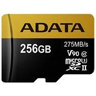ADATA Premier ONE microSDXC 256 GB U3 USH-II Class 10 - Memóriakártya