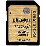 Kingston SDHC 32GB UHS-I Class 10 - Memóriakártya