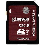 Kingston 32GB SDHC Class 10 UHS-I U3 - Memóriakártya