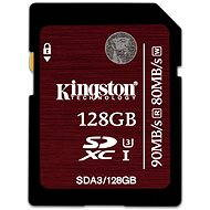 Kingston SDXC UHS-I 128 GB Speed Class 3 - Memóriakártya