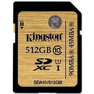 Kingston SDXC UHS-I 512 GB Class 10 - Memóriakártya
