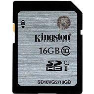 Kingston SDHC 16GB Class 10 UHS-I - Memóriakártya