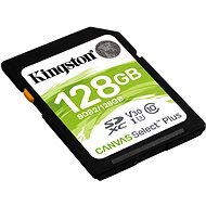 Kingston Canvas Select Plus SDXC 128GB Class 10 UHS-I - Memóriakártya