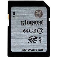 Kingston SDXC 64 GB Class 10 UHS-I - Memóriakártya