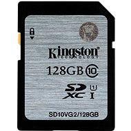Kingston SDXC 128 GB Class 10 UHS-I - Memóriakártya