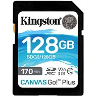 Kingston Canvas Go! Plus SDXC 128GB - Memóriakártya