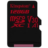 Kingston Canvas React MicroSDXC 128GB A1 UHS-I V30 - memóriakártya