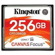 Kingston Compact Flash 256GB Canvas Focus - Memóriakártya