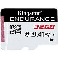 Kingston Endurance microSDXC 32GB A1 UHS-I C10 - Memóriakártya