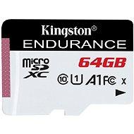 Kingston Endurance microSDXC 64GB A1 UHS-I C10 - Memóriakártya