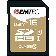 EMTEC SDHC 16GB Gold Plus Class 10 - memóriakártya